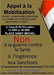 COMITES SYRIE - manif Paris 08 dec (2012 12 02) FR