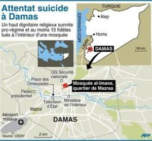 LM - SYRIE attentat mosquée (2013 03 21) FR 3