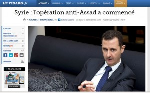 SYRIA - FB l'honneur perdu du Figaro (2013 08 24) FR