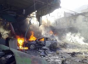 PCN-TV - Syrie Attentat à Idleb (2013 09 15) FR