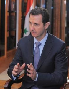 SYRIA - Assad interview à l'Afp complète (2014 01 20) FR 1
