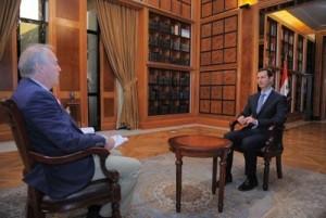 SYRIA - Assad interview à l'Afp complète (2014 01 20) FR 2