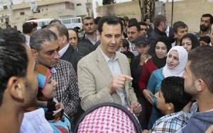 SYRIA - présidentielle en Syrie (2014 04 22) FR