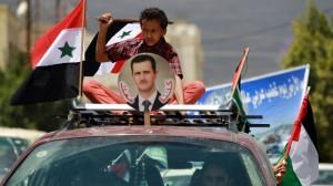 SYRIA - Syrie Bachar vainqueur (2014 06 01) FR 1