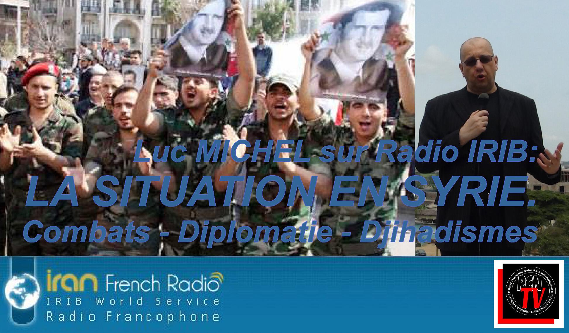 PCN-TV - LM sur IRIB situation geopol syrie 2015 (2015 02 21) FR