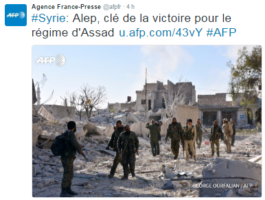 SYRIA - Nato experts sur alep (2016 11 28) FR 1