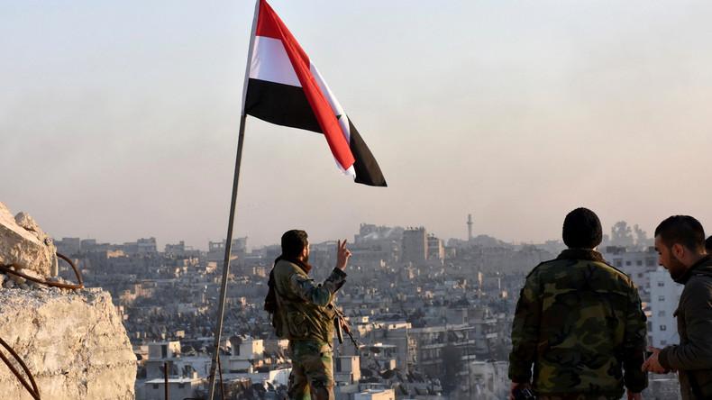 SYRIA - Vieil Alep libéré (2016 12 07) FR