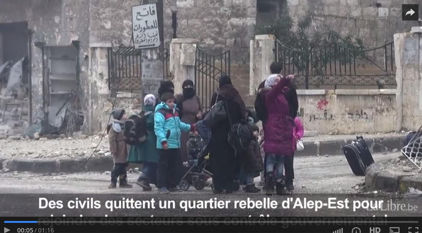 Syrie  Le siège d Alep se termine  SYNTHESE    La Libre.be