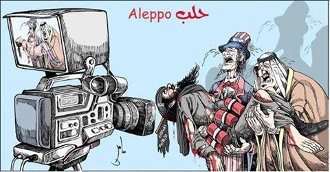 aleppo vs nato media