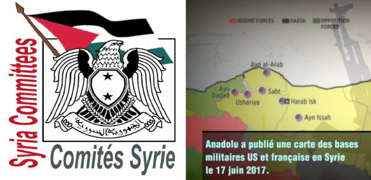 SYRIA-TV - Bases us fr en Syrie (2017 08 07) FR