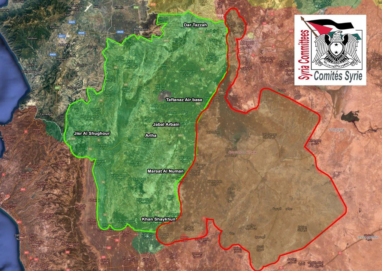 SYRIE - Idlib desescalade