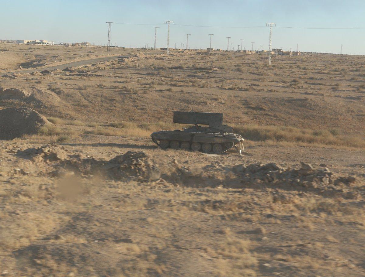 Syrie - TOS-1A Deir Ezzor