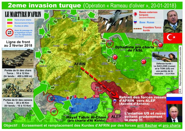 LM.GEOPOL - Syrie les masquent  tombent I turquie (2018 02 12) FR 2