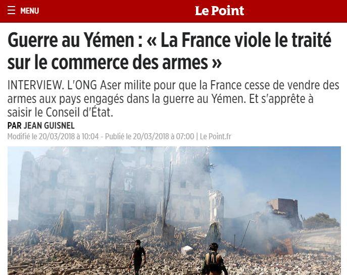 EODE - GEOPOL rp france yemen (2018  03 21) FR