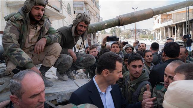SYRIA - Assad à la ghoutta (2018 03 18) FR (1)