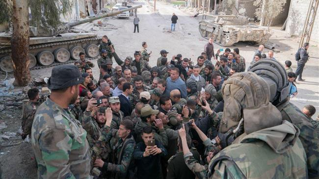 SYRIA - Assad à la ghoutta (2018 03 18) FR (2)