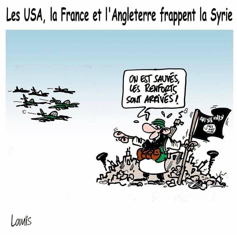SYRIA - Aviation US appuie daech   (2018 06 18) FR