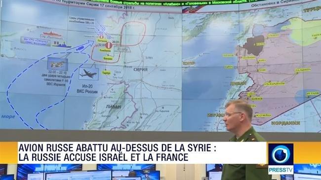Z - # SYRIA COMMITTEES- REVUE DE PRESSE- AVION RUSSE ABATTU AU-DESSUS DE LA SYRIE - LA RUSSIE ACCUSE ISRAËL ET LA FRANCE (2018 09 19)