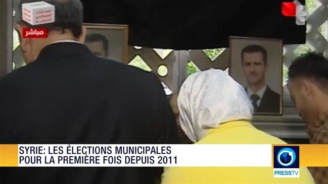 Z - # SYRIA COMMITTEES  REVUE DE PRESSE - SYRIE - LES ELECTIONS MUNICIPALES POUR LA PREMIERES FOIS DEPUIS 2011