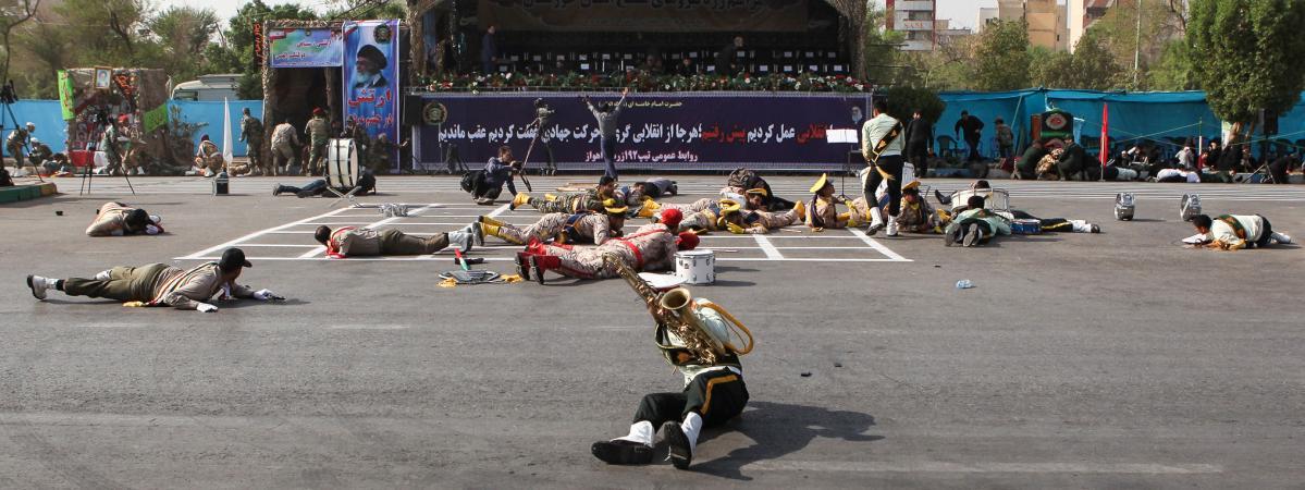 attaque terroriste en Iran
