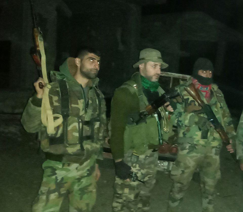 army control al-Zarzour and Umm Al-Khalakhil