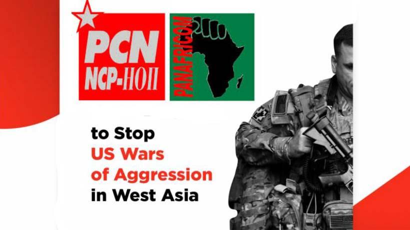 stickers PCN PANAF no war