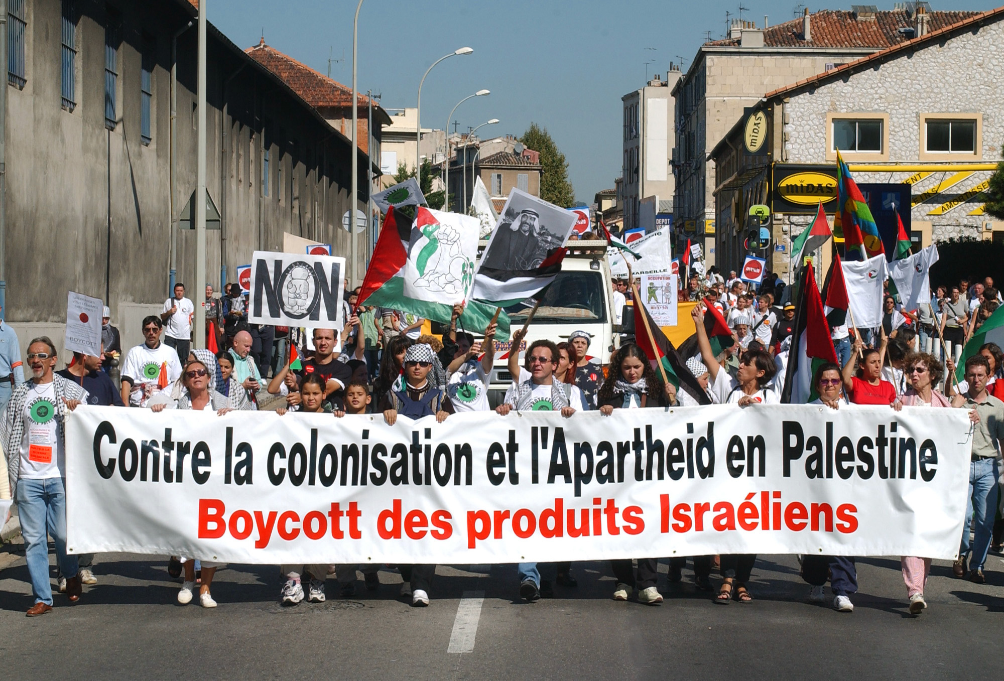 FRANCE MIDEAST PROTEST